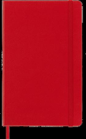 Moleskine Agenda large weekly notebook rood 2021-2022  harde kaft
