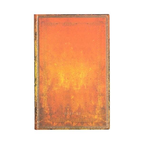 Paperblanks agenda 18-maand 2021-2022 - clay rust -Maxi
