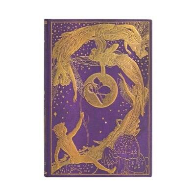 Paperblanks agenda 18-maand 2021-2022 - Violet Fairy - MINI