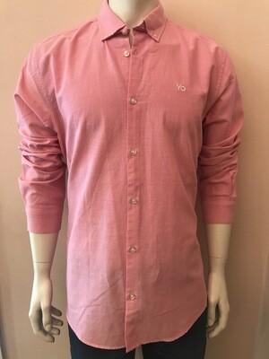 Shirt L/S Pink Uni