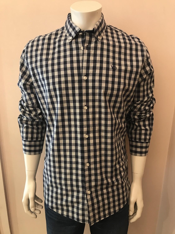 Shirt L/S, Gro Vich blue