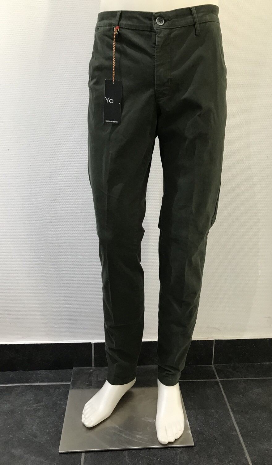 Chino, solid, green
