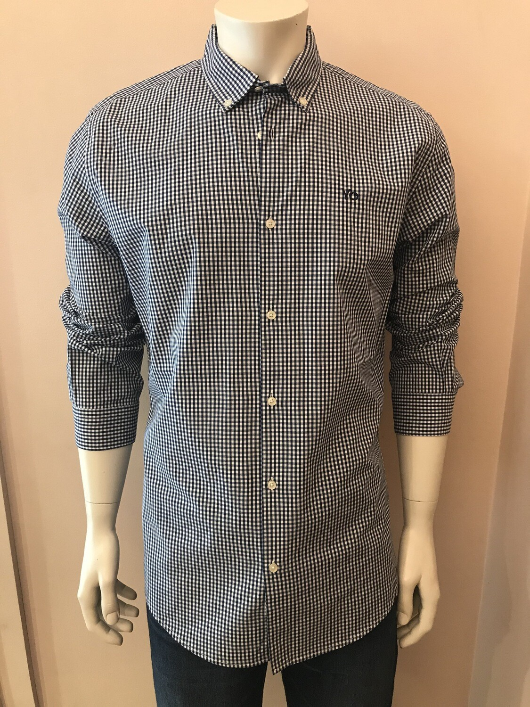 Shirt, L/S, Vich blue