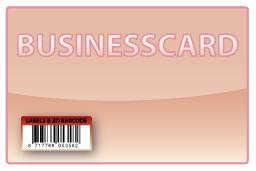 Barcode-etiket, 25 x 12 mm