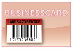 Barcode-etiket, 30 x 45 mm