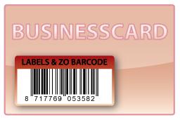Barcode-etiket, 50 x 25 mm