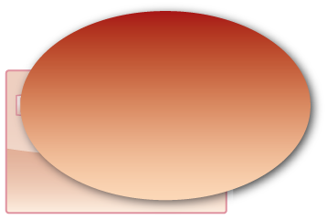 Ovaal 100x50 mm