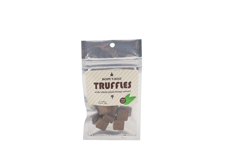 Chocolate Truffles (mint) Sampler Pack - 6 pack