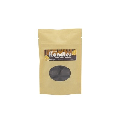 Hemp Infused Chocolate (with orange oil)