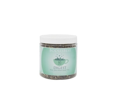 Herbal Hemp Tea (Digest Blend) 2000mg