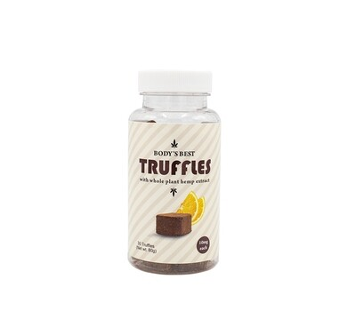 Chocolate Truffles Orange (10mg each)