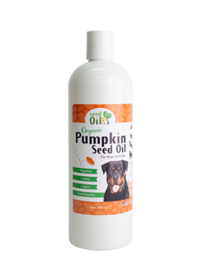 Organic Pumpkin Seed Oil for Pets 16oz