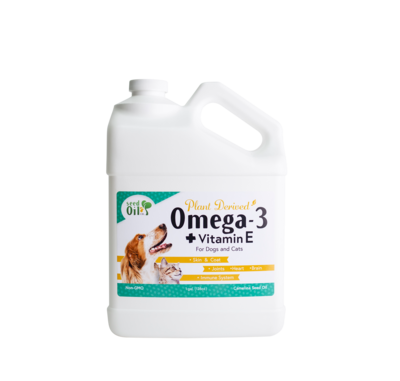 Organic Camelina Seed Oil for Pets