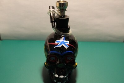 Glass Skull Mini Hookah 5