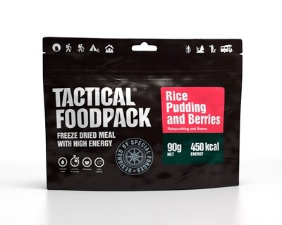 Tactical Foodpack - Rice Pudding and Berries