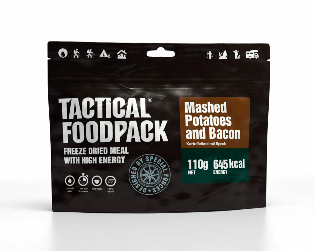 Tactical Foodpack - Mashed Patatoes and Bacon