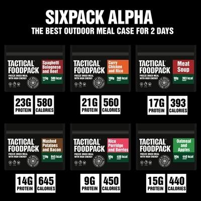 Tactical Foodpack - Six Pack Alpha