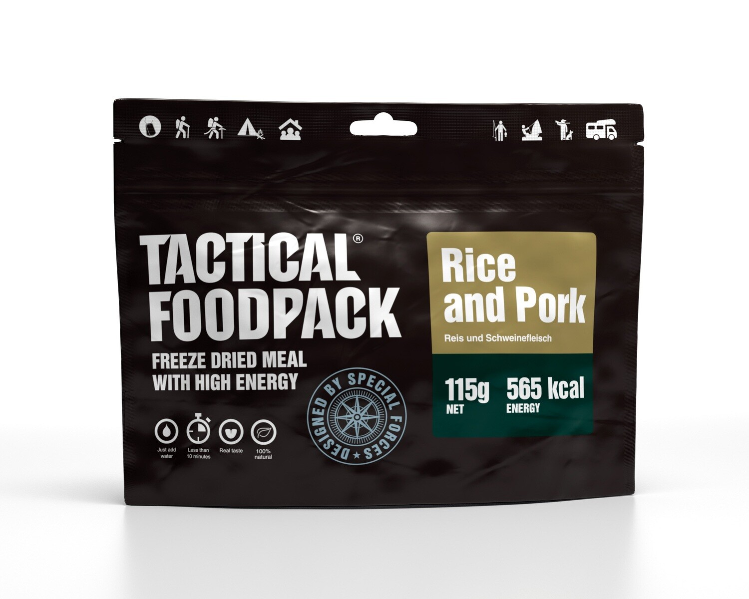 Tactical Foodpack - Rice and Pork