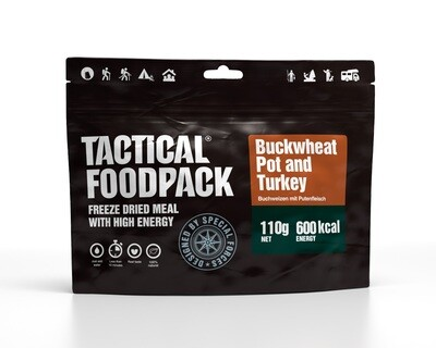 Tactical Foodpack - Buckweat Pot and Turkey