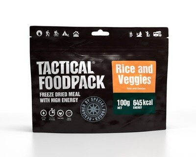 Tactical Foodpack - Rice and Veggies