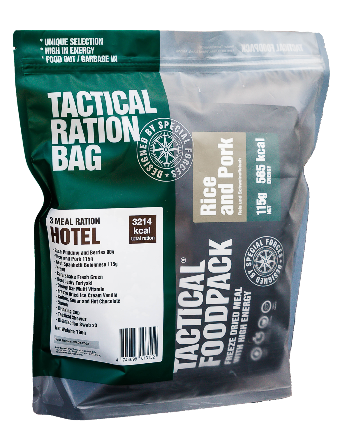 Tactical Foodpack - 3 Meal Ration Hotel