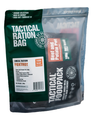 Tactical Foodpack - 1 Meal Ration Foxtrot