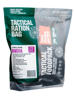 Tactical Foodpack - 3 Meal Ration India
