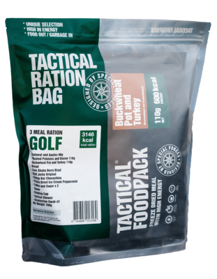 Tactical Foodpack - 3 Meal Ration Golf