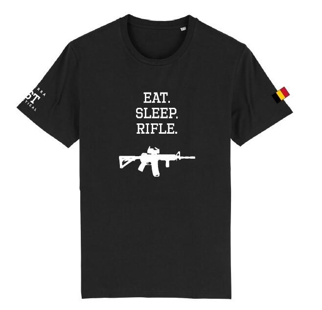 Sierra Tactical - Eat Sleep Rifle T-Shirt