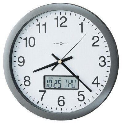 Howard Miller Chronicle 625195 Wall Clock