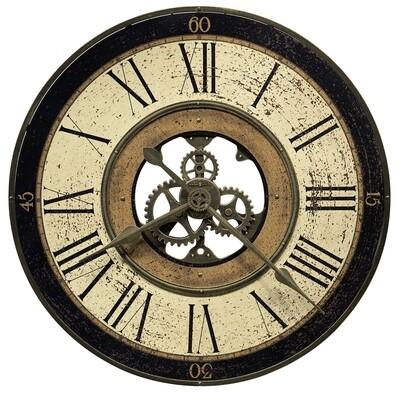 Howard Miller Brass Works 625542 Wall Clock