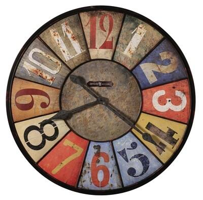 Howard Miller County Line 625547 Wall Clock