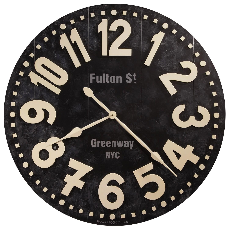 Howard Miller Fulton Street 625557 Wall Clock