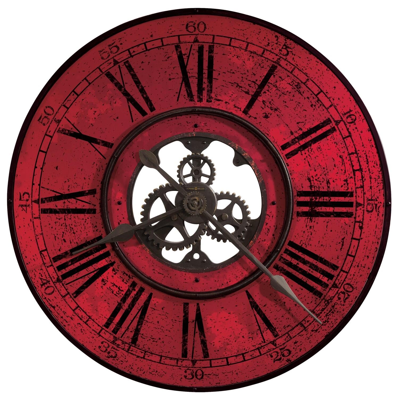 Howard Miller Brass Works II 625569 Wall Clock
