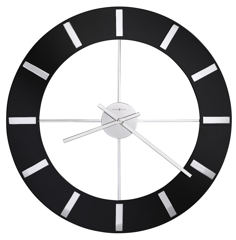 Howard Miller Onyx 625602 Wall Clock