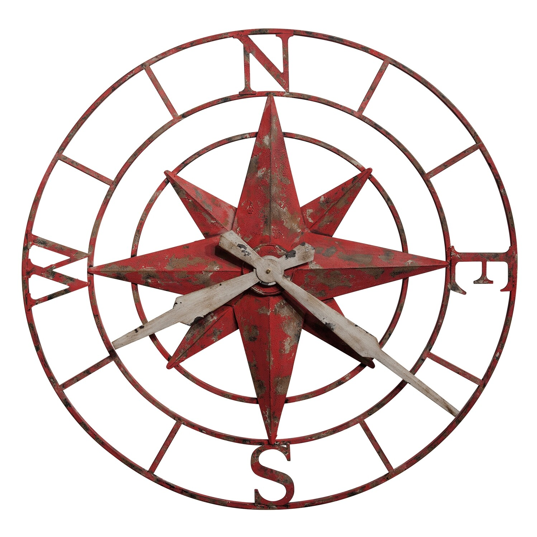Howard Miller Compas Rose 625633 Wall Clock