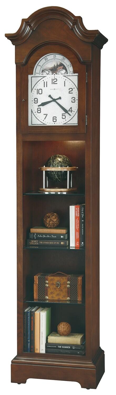 Howard Miller 611302 Isadora III Curio  Floor Clock