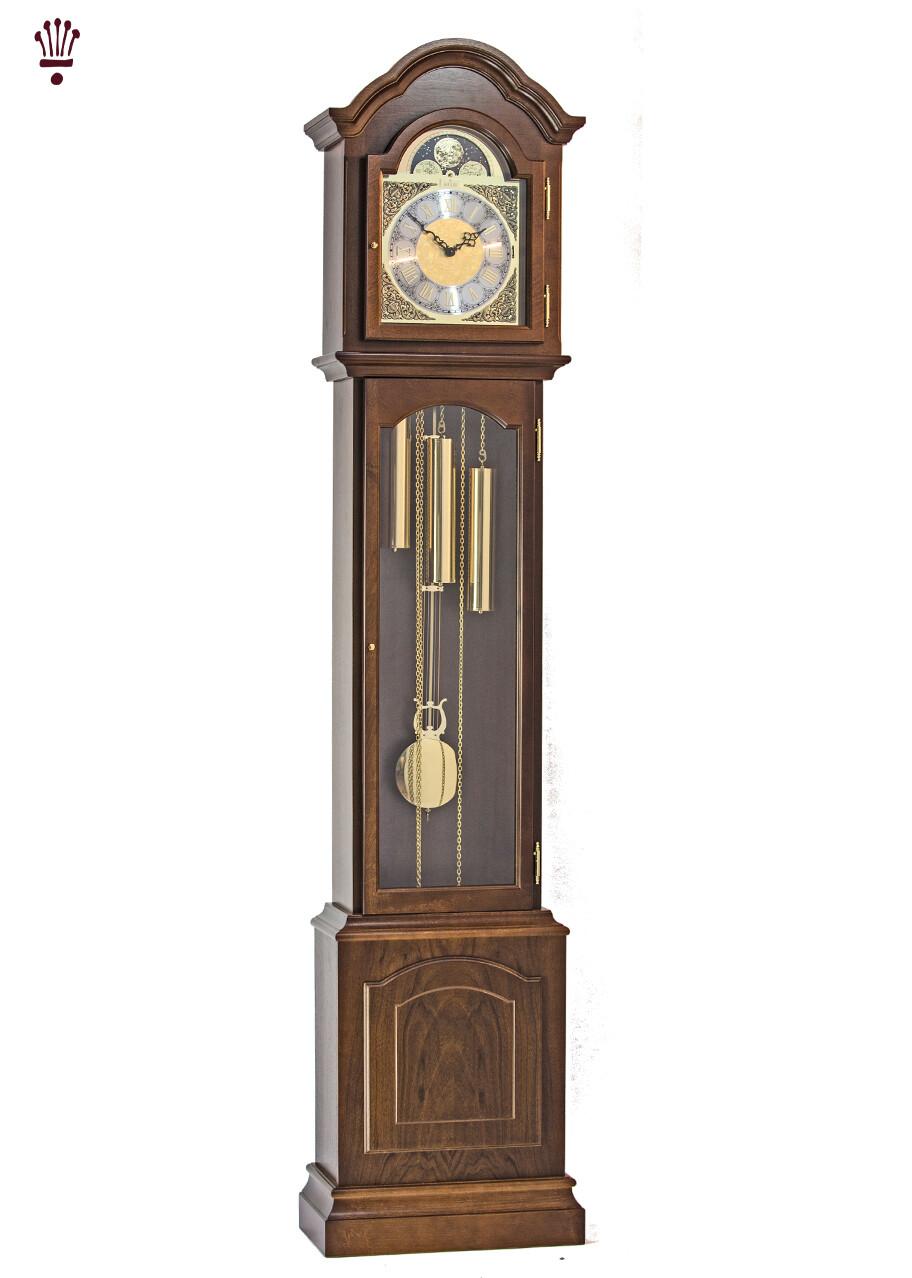 Billib Glenhaven Grandmother Clock In Walnut Finish