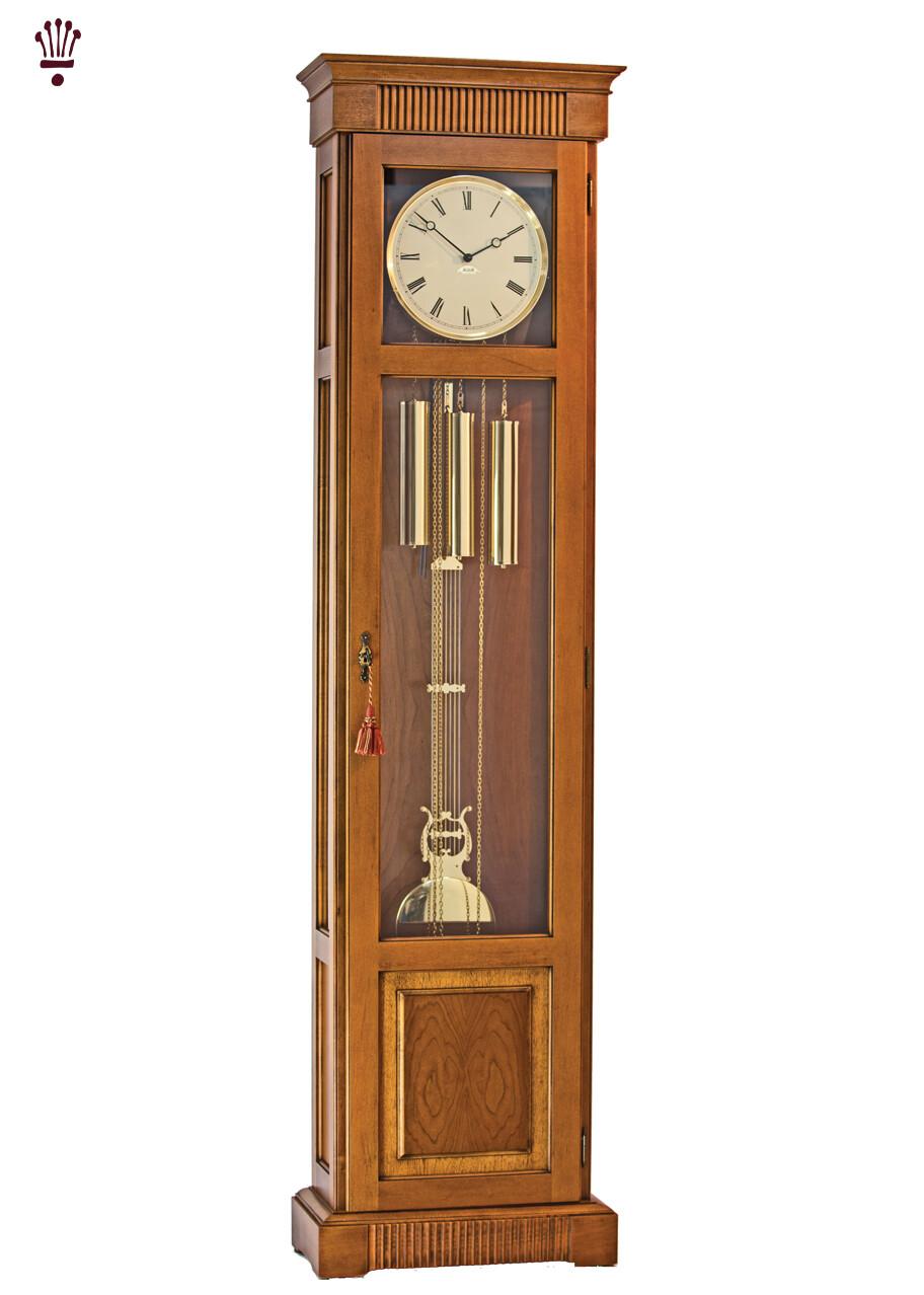 Billib Harrison Grandfather Clock Antique Cherry Finish