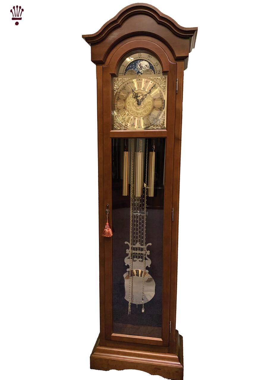 Billib Mayfair Walnut Grandfather Floor Clock