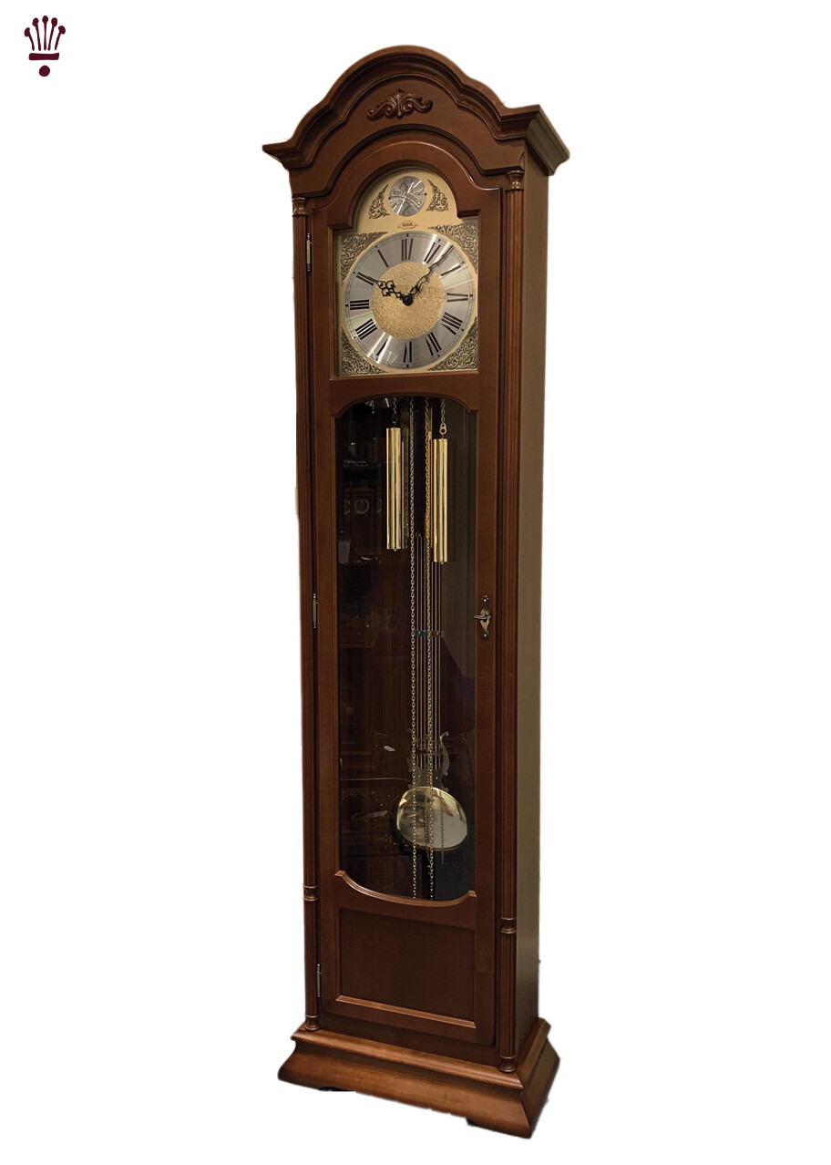 Billib Natalie Walnut Floor Clock
