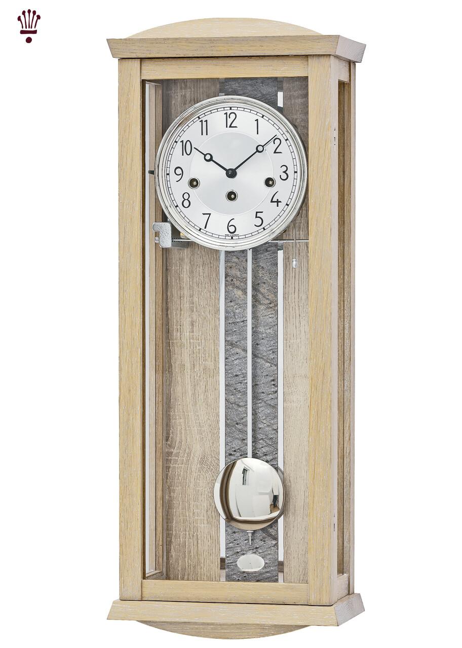 Billib Alcova Mechanical Wall Clock with Beech Finish