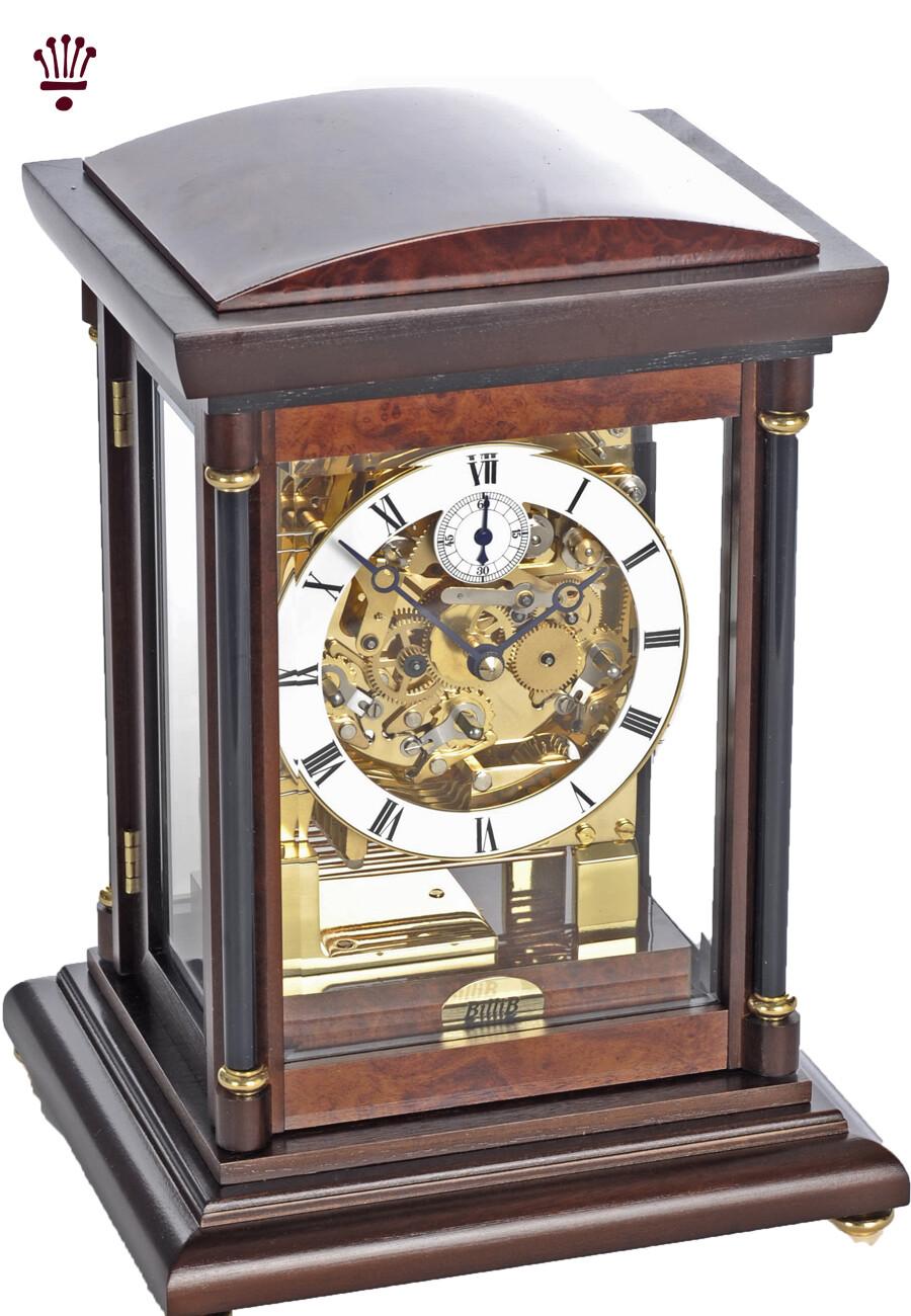 Billib Bradley Mantle Clock in Walnut