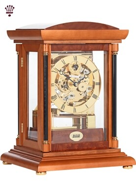 Billib Bradley Mantle Clock in Yew