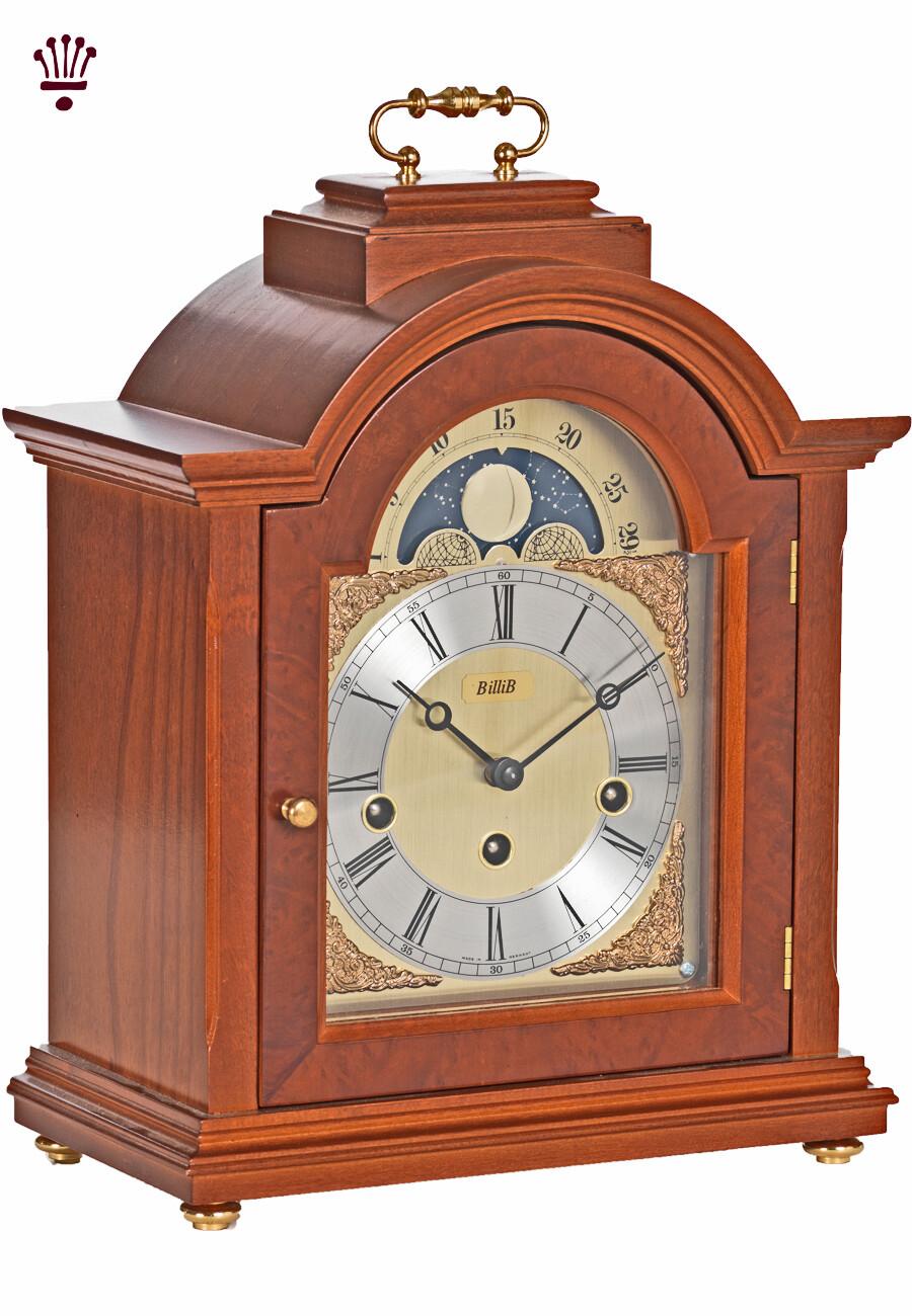 Billib Linton Mantel Clock in Yew