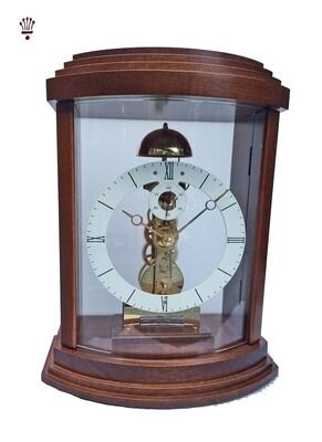 Billib Lindsey Mantel Clock in Walnut