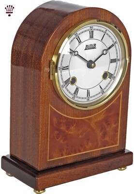 Billib Rosewood Bell Strike Mantel Clock