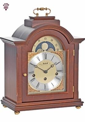 Billib Linton Mantel Clock in Walnut Finish