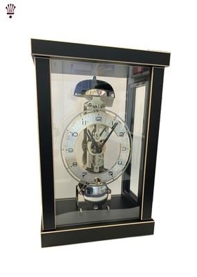 Billib Robert Modern Cube Mantel Clock In Black