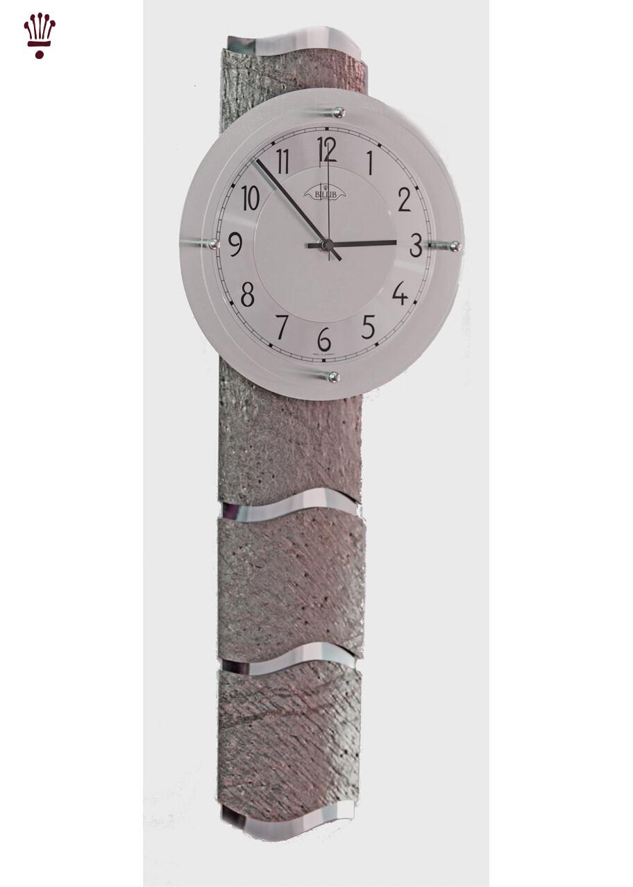 Billib QC 9090 Mineral Glass Radio Controlled Wall Clock